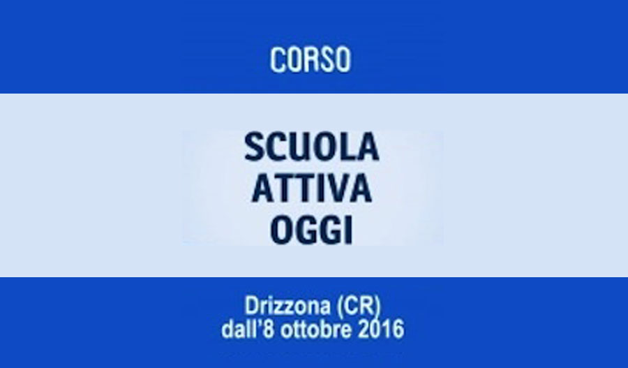 Scuola Attiva Oggi / II edizione