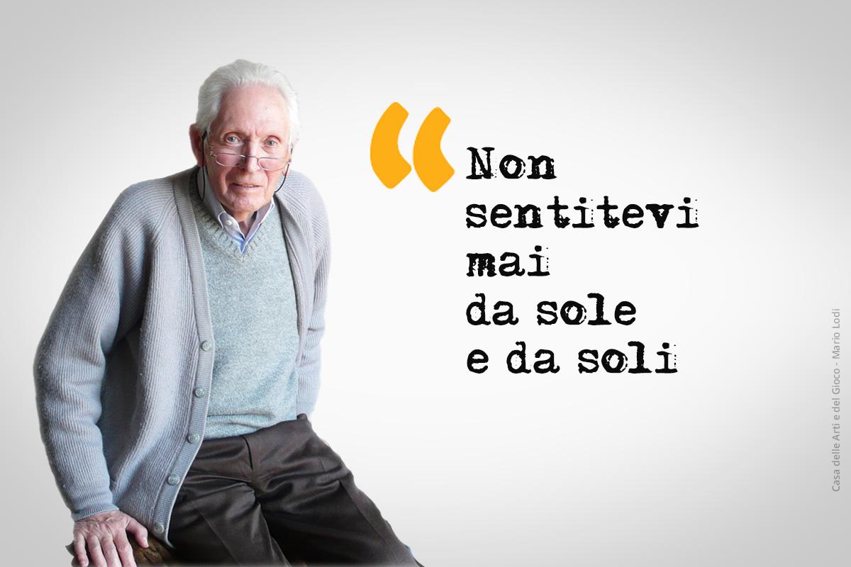 """""""Lettera agli insegnanti"""" di Mario Lodi"""
