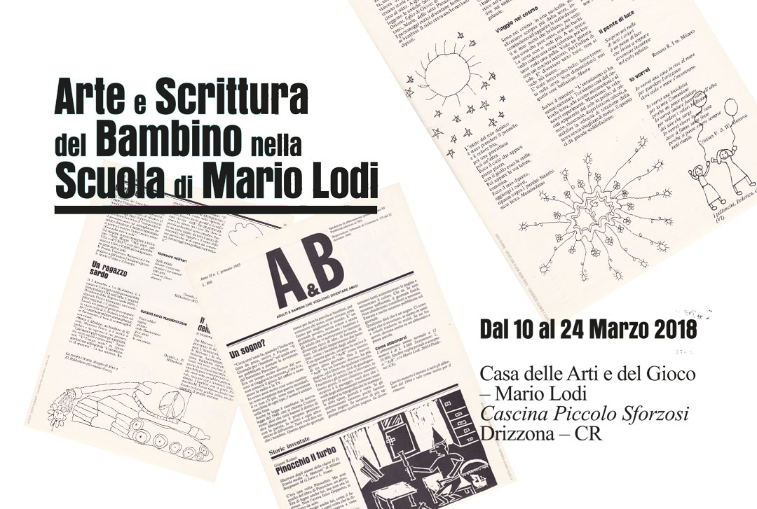 Arte e scrittura del bambino nella Scuola di Mario Lodi / Primavera 2018