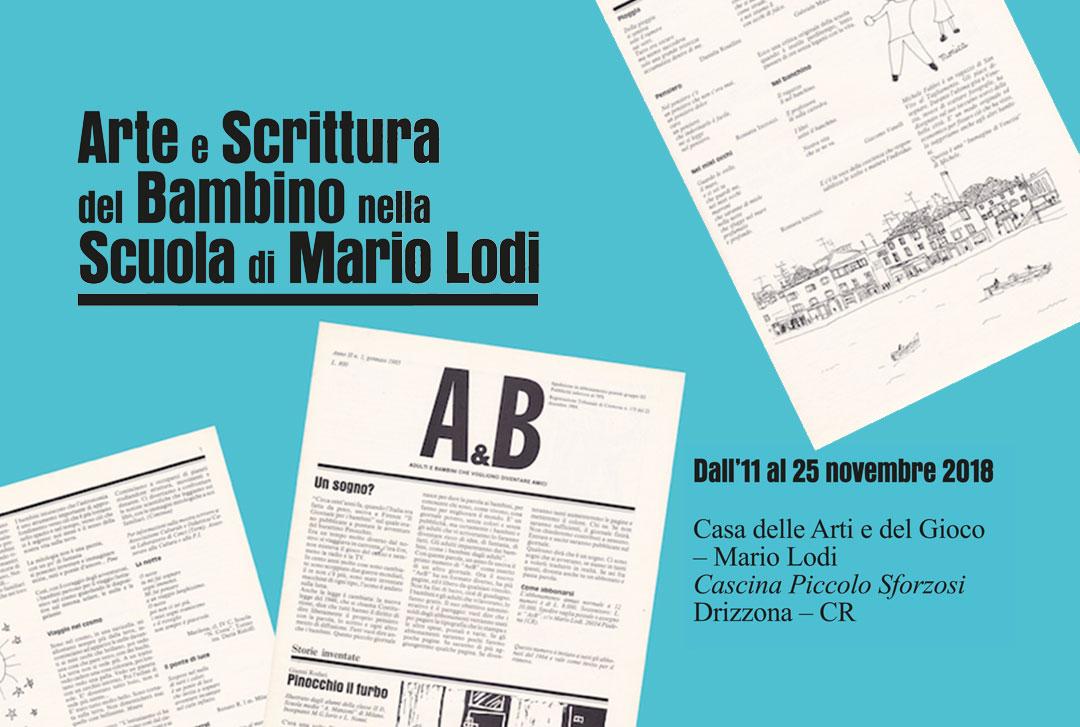 Arte e scrittura del bambino nella Scuola di Mario Lodi / Autunno 2018