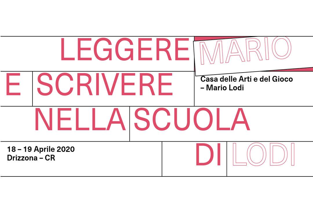 Leggere e scrivere nella Scuola di Mario Lodi / Primavera 2020