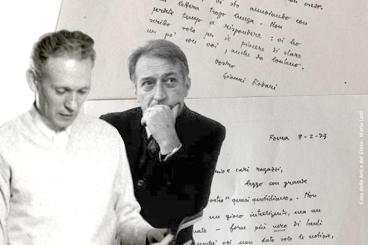 Mario Lodi e Gianni Rodari
